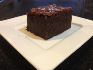 Borough Market chocolate brownies
