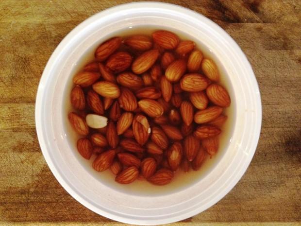 Almond milk_Step 1