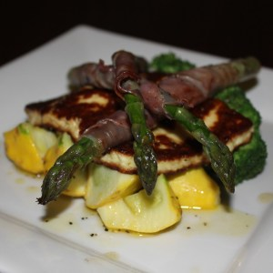 feature_haloumi_pancetta_asparagus_lemon_dressing_