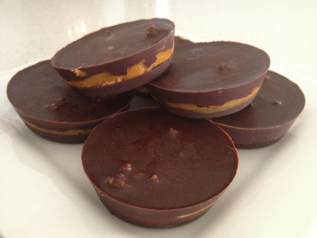 Sugar-free Chocolate Nut Butter Cups