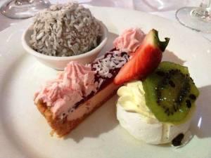 Australian dessert tasting plate