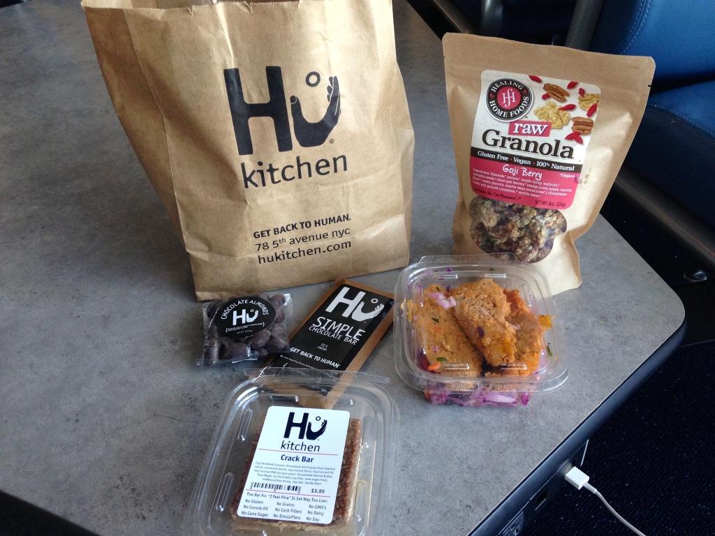 Hu Kitchen Paleo goodie bag