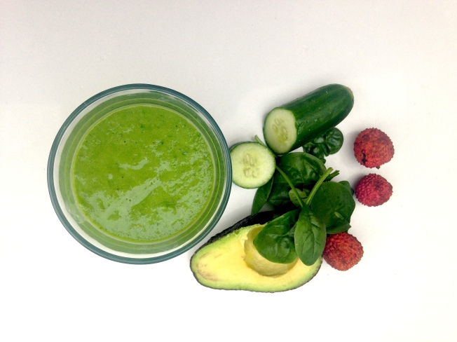 Green smoothie: Sweet baby ado
