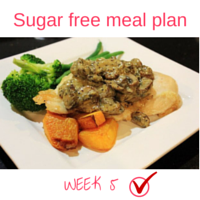 Button - Inspired Mood Sugar free meal plan Week 5