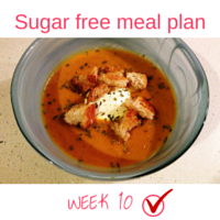 Button - Inspired Mood Sugar free meal plan Week10