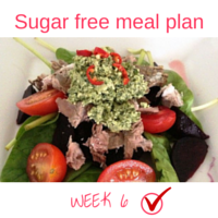 Button - Inspired Mood Sugar free meal plan Week6