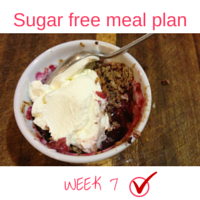 Button - Inspired Mood Sugar free meal plan Week7