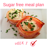 Button - Inspired Mood Sugar free meal plan Week 8