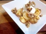 Baked apple with Greek yoghurt and walnuts