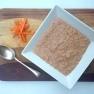 Carrot and walnut porridge