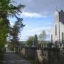 A roadside church in the Scottish highlands