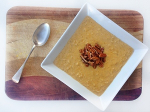 Pumpkin pie porridge